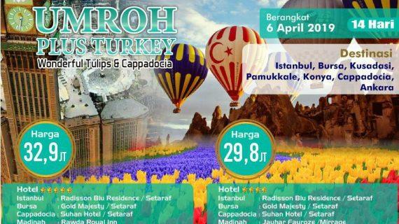 Paket Umroh April 2020 Lengkap Plus Turki