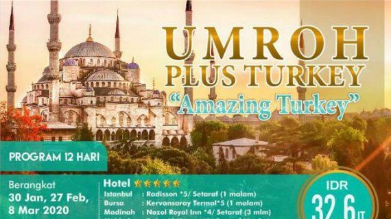 Info Paket Umroh Plus Turki 2020 Menyaksikan Pilar Islami