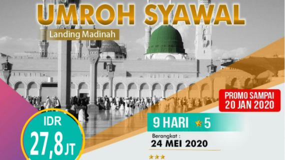 Paket Umroh Mei 2020 Ramadhan dan Syawal