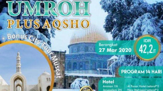 Paket Umroh Plus Aqso 2020Jatidiri Islami