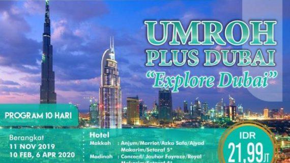 Paket Umroh Plus Dubai 2020 Pelayanan Maksimal